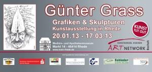 Guenter Grass Bocholt 300x143 - Presseartikel - Bocholter Borkener Volksblatt - Januar 2013