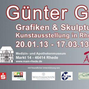 Guenter Grass Bocholt 300x300 - Günter Grass - Kunstausstellung in Rhede