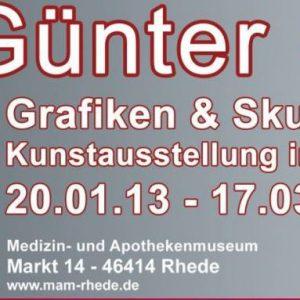 Guenter Grass Rhede Bocholt Koenen 300x300 - Günter Grass Ausstellung - Grafiken und Skulpturen bis zum 17.3.2013