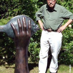 Grass Butt im Griff 300x300 - Günter Grass Ausstellung - Grafiken und Skulpturen bis zum 17.3.2013