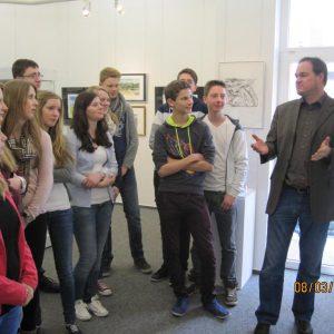 IMG 2352 800x600 300x300 - Schüler staunen in der Günter Grass Ausstellung