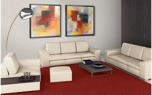 Raum2 300x187 - Kunst tut gut ... Geschäftsräume und Büros einrichten