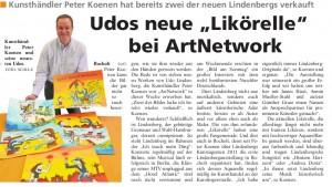 2013.04.06 SK 300x169 - Presseartikel - Stadtkurier März 2013 - Udo Lindenberg