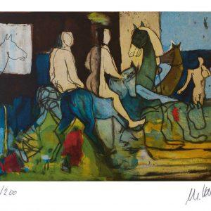 AMS Castor Pollux1 300x300 - Kunst als Wertanlage - Rizzi - Lindenberg - Grass und Mueller-Stahl