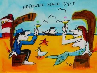Udo Lindenberg Heimweh nach Sylt Mobile - ART NETWORK: Kunst-voll einrichten in Bocholt