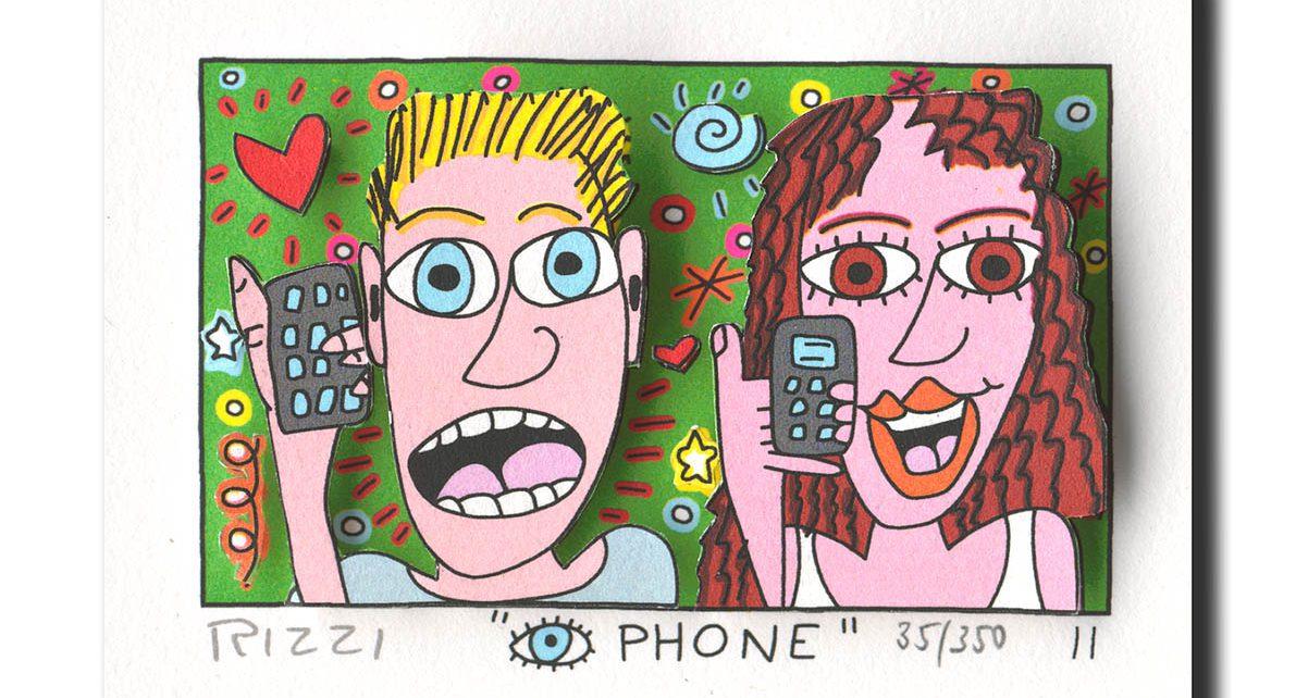 Z53198 Rizzi 2011 01 EyePhone 54 87 1191x642 - James Rizzi - Pop-Art der anderen Art
