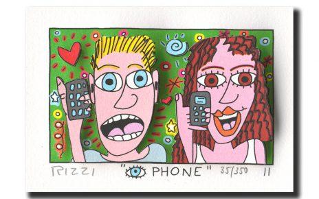 Z53198 Rizzi 2011 01 EyePhone 54 87 464x290 - James Rizzi - Pop-Art der anderen Art