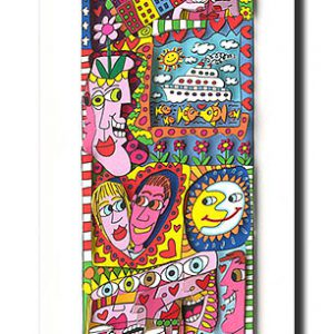Z53199 Rizzi 2011 01 IfYouGiveOutTheLoveYouGetBackTheLove 642 93 300x300 - James Rizzi - Pop-Art der anderen Art