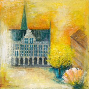 Fritz Brauwers Historisches Rathaus Bocholt Giclee Print 300x300 - Kunst – Online kaufen