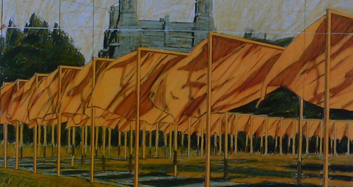 Christo 11 1210x642 - Christo verhüllt die Welt - Neu in unserem Online Shop für zeitgenössische Kunst