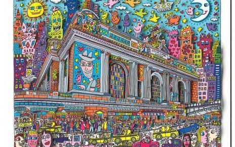 RIZZI10114 Rizzi 2011 01 000 AGrandCentralStation 350 440 464x290 - James Rizzi - Pop Art Boom ist ungebrochen