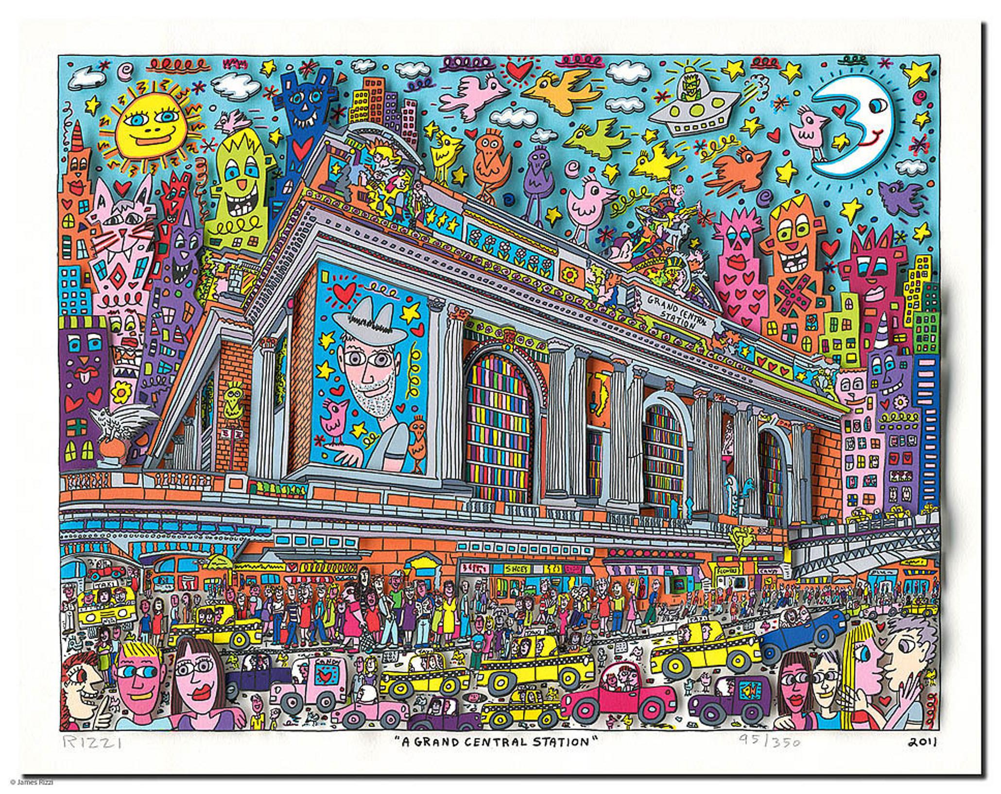 James Rizzi - Pop Art Boom ist ungebrochen | Kunst tut gut ...