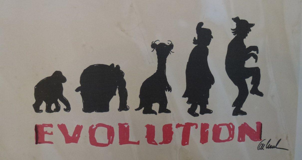 Evolution 1 1210x642 - Zeitgenössische Kunst - Otto Waalkes ... mehr als ein Komiker