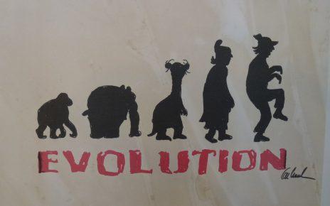 Evolution 1 464x290 - Zeitgenössische Kunst - Otto Waalkes ... mehr als ein Komiker