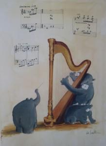 Harpos Theme 218x300 - Zeitgenössische Kunst - Otto Waalkes ... mehr als ein Komiker