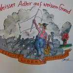 Weisser Adler auf weissem Grund 150x150 - Original Kunst - Bilder und Gemälde in Bocholt