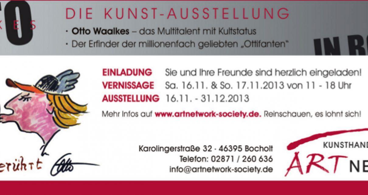 Otto Waalkes Rheder Stadtgespraech 1210x642 - Presseartikel: Rheder Stadtkurier November 2013 - Otto Waalkes
