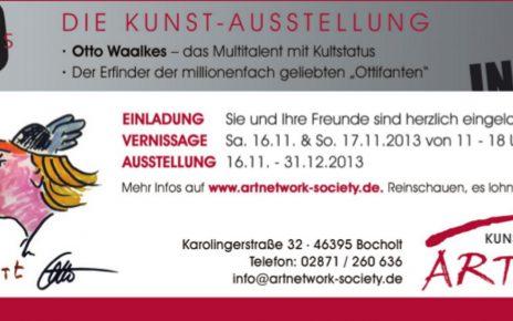 Otto Waalkes Rheder Stadtgespraech 464x290 - Presseartikel: Rheder Stadtkurier November 2013 - Otto Waalkes