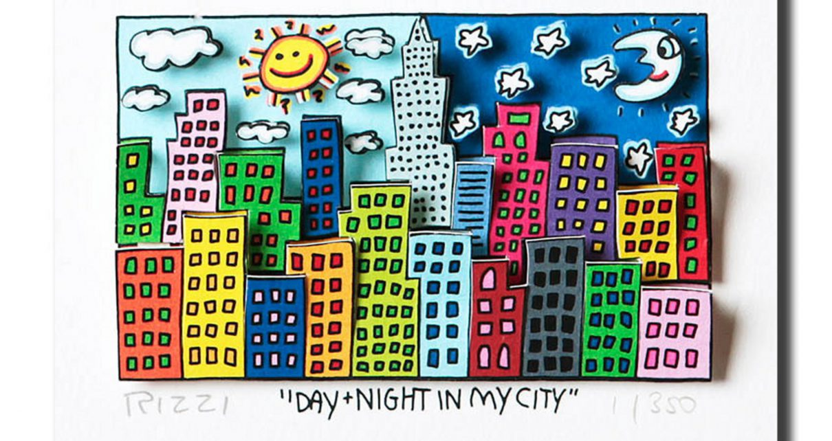 2013 RIZZI Day  Night in my city b 1210x642 - Zeitgenössische Kunst - Top Künstler 2013