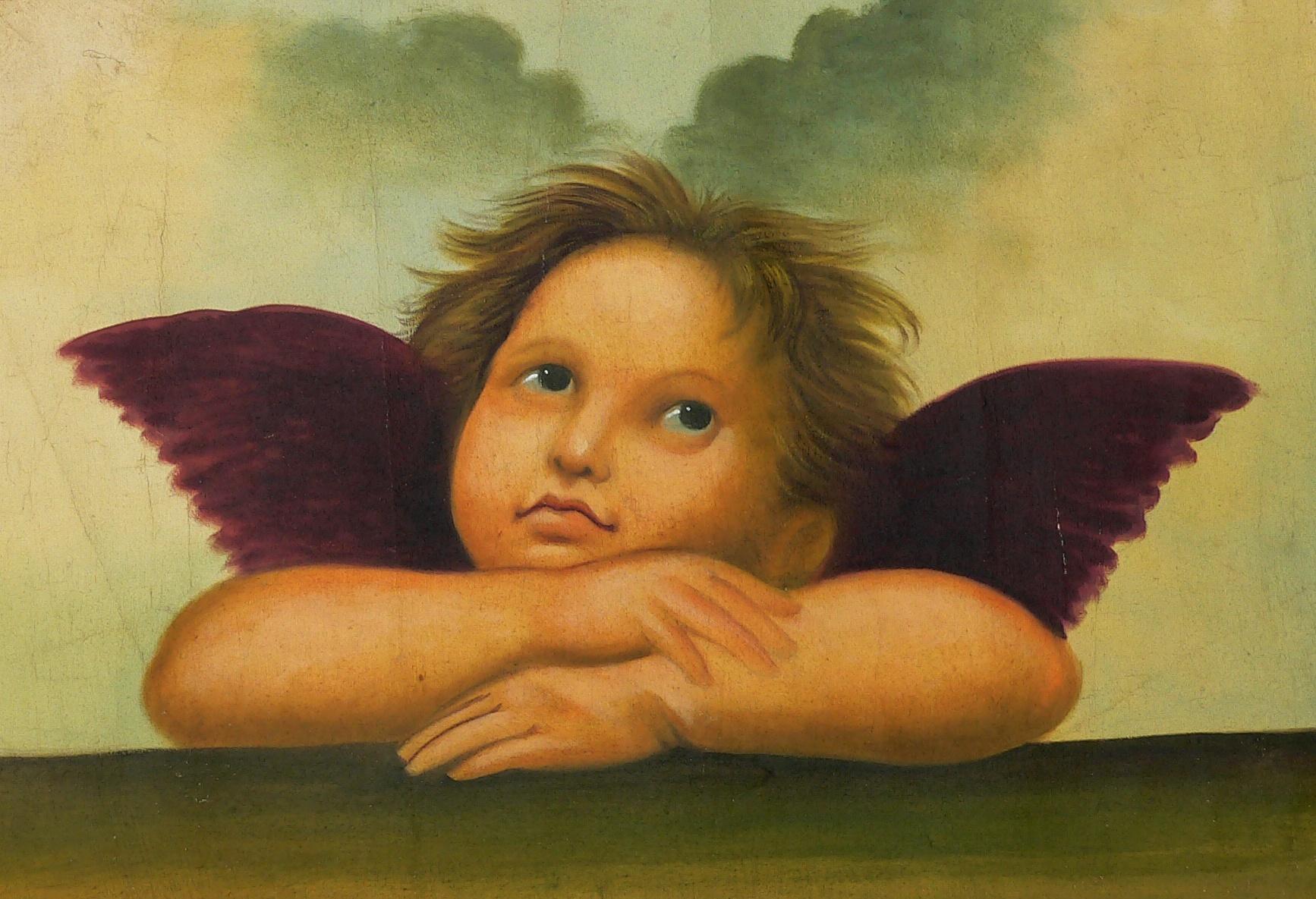 Engel Auf Wolke Schlafend : die engel der sixtinischen madonna in dresden l auf leinwand kunst tut gut blog ~ Bigdaddyawards.com Haus und Dekorationen