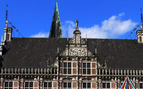 Historisches Rathaus Bocholt 464x290 - Kunst - Geschichte Bocholt : Historisches Rathaus & Europabrunnen