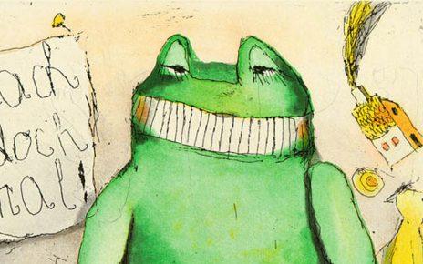 Janosch Froschjpg 464x290 - Janosch - Kinderbuchautor und Künstler