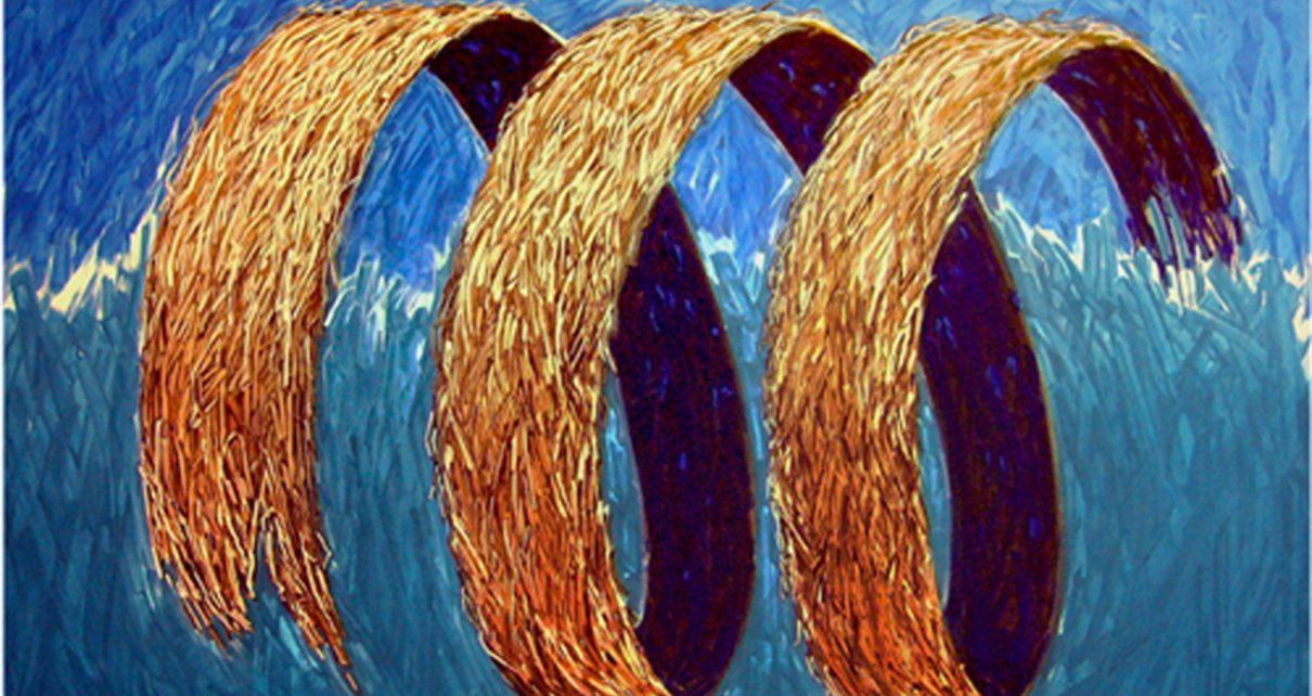 Tsunamie100x80cm1000kb1 1210x642 - Nico Namara - Ausdrucksmittel und Technik des Pointillismus