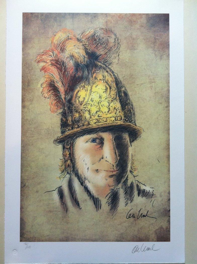 Goldhelm - Kunst um Bocholt: Ein Rembrandt im Museum Wasserburg - Anholt