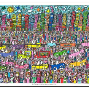 2011 RIZZI Nothing is as pretty as Rizzi City 300x300 - James Rizzi - Vernissage am 27. & 28.09.2014 in Bocholt