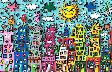 2011 RIZZI Nothing is as pretty as Rizzi City Ausschnitt1 - Rizzi - NOTHING IS AS PRETTY AS A RIZZI CITY - Letztes Exemplar