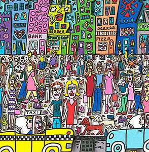 2011 RIZZI Nothing is as pretty as Rizzi City Ausschnitt3 294x300 - James Rizzi - Vernissage am 27. & 28.09.2014 in Bocholt