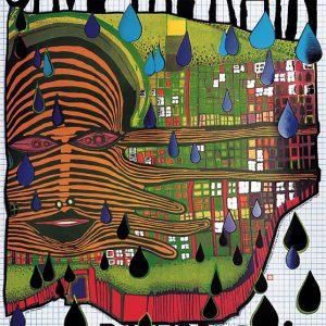 Hundertwasser SAVE THE RAIN ml 300x300 - Kunst von Hundertwasser - Farben und Kontraste