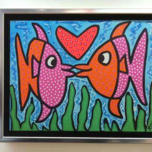 Kissie Fishie ml 300x300 - James Rizzi - Vernissage am 27. & 28.09.2014 in Bocholt