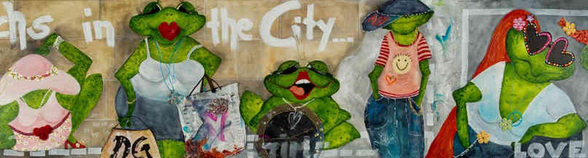 Gabriele Meyer Ansicht Sechs in the city ml1 1210x327 - Neu in unserer Galerie - Bilder und Gemälde von Gabriele Meyer