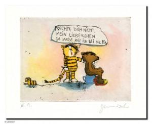 JA00830 Janosch 0000 05 FuerchteDichNicht2008 150 195 300x245 - Janosch - Die Kunst der Bilder