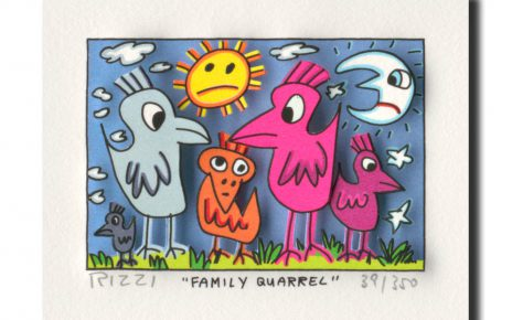 RIZZI10168 family quarrel 464x290 - James Rizzi Edition 2014  - Offiziell autorisierte Kunst Galerie