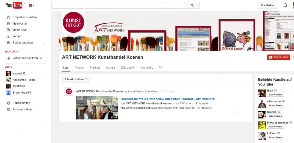 Youtube 1024x500 - Online / Offline - KUNST TUT überall GUT...