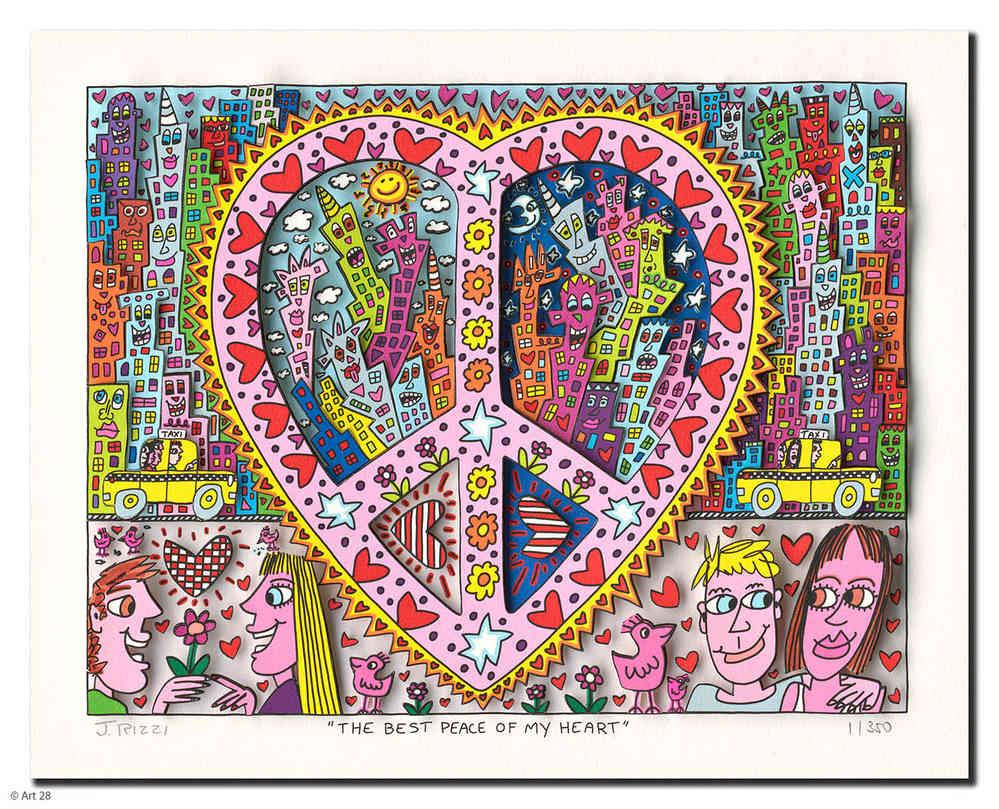 RIZZI10184 The best peace of my heart ml - RIZZI Ausstellung - LOVE & PEACE FÜR BOCHOLT