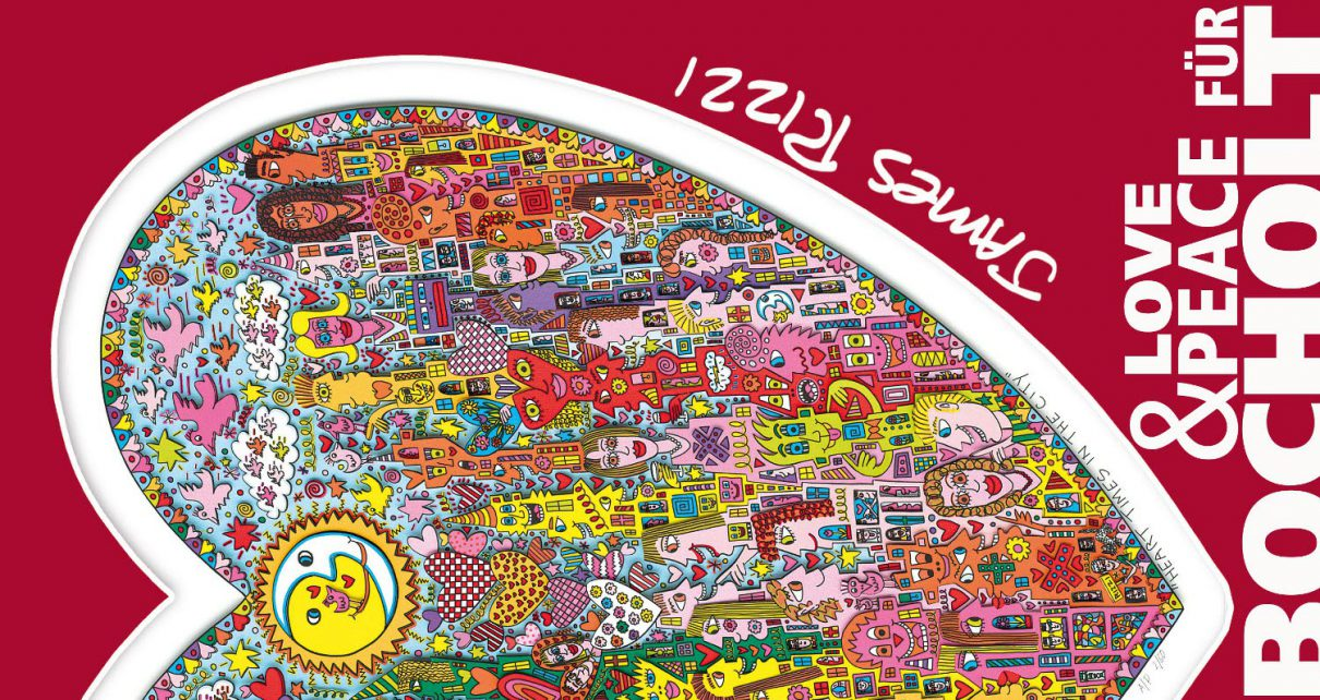 Rizz Verni 1210x642 - James Rizzi - Vernissage am 27. & 28.09.2014 in Bocholt