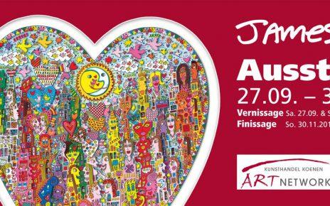 Rizzi Ausstellung Flyer Blog1 464x290 - James Rizzi Ausstellung - Online via Kunst tut Gut TV