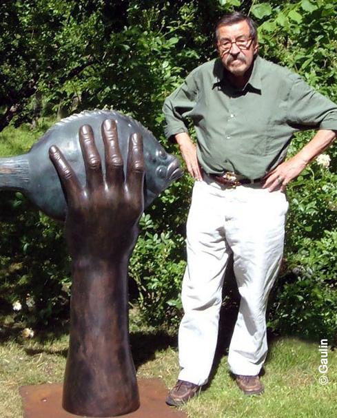 Grass Butt im Griff - Günter Grass - Maler, Bildhauer und Zeichner