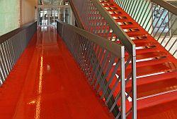 "Textilmuseum Treppe - Kunst in Bocholt - Das Textilmuseum ""Alte Spinnerei Herding"""