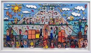 1989 rizzi bon voyage 300x175 - James Rizzi - Dauerausstellung mit über 100 Werken