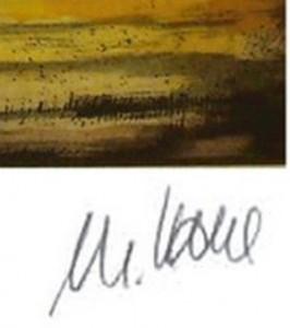 Castor und Pollux Detail Signatur 266x300 - Armin Mueller-Stahl: Castor und Pollux