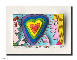"RIZZI10171 rainbow of love 300x234 - James Rizzi Verlosung – Die Gewinner vom Aktionstag ""LOVE & PEACE"""