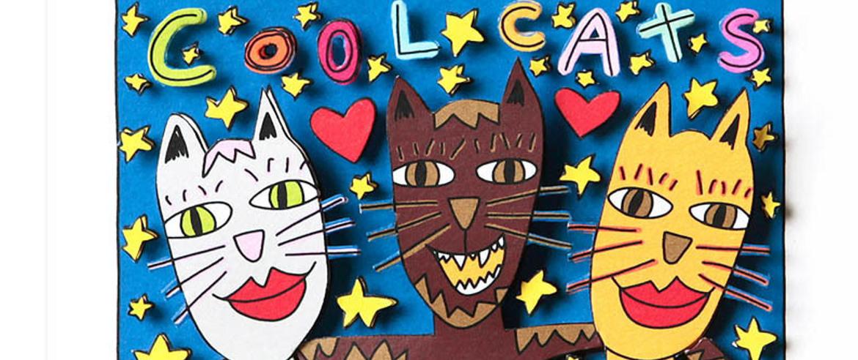 RIZZI Cool Cats2 - James Rizzi - Dauerausstellung mit über 100 Werken
