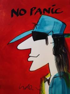 2014.10.28. Udo Lindenberg No Panic 225x300 - Zeitgenössische Kunst - Meistgelesene Artikel in unserem KUNST TUT GUT Blog 2014