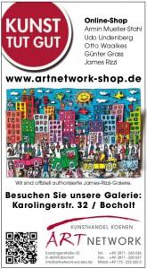 Anzeige SP 165x300 - Stadtplan Bocholt 2015 - kostenlos im Kunsthandel Koenen