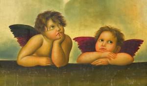 Engel beide 300x176 - Zeitgenössische Kunst - Meistgelesene Artikel in unserem KUNST TUT GUT Blog 2014