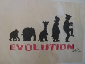 Evolution 1 300x225 - Zeitgenössische Kunst - Meistgelesene Artikel in unserem KUNST TUT GUT Blog 2014